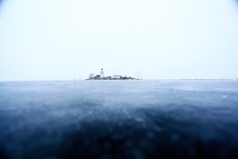 Noordpoolgebied van de kerk het antarctische Antarctica van het ijseiland stock foto