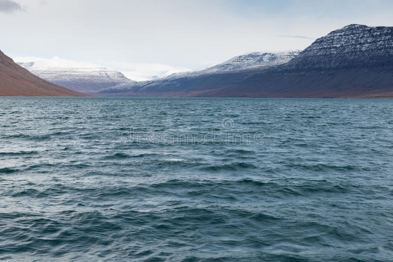 Noordpoollandschap in Groenland stock afbeeldingen