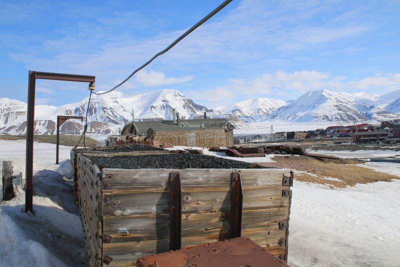 Noordpoolmijnbouw stock fotografie