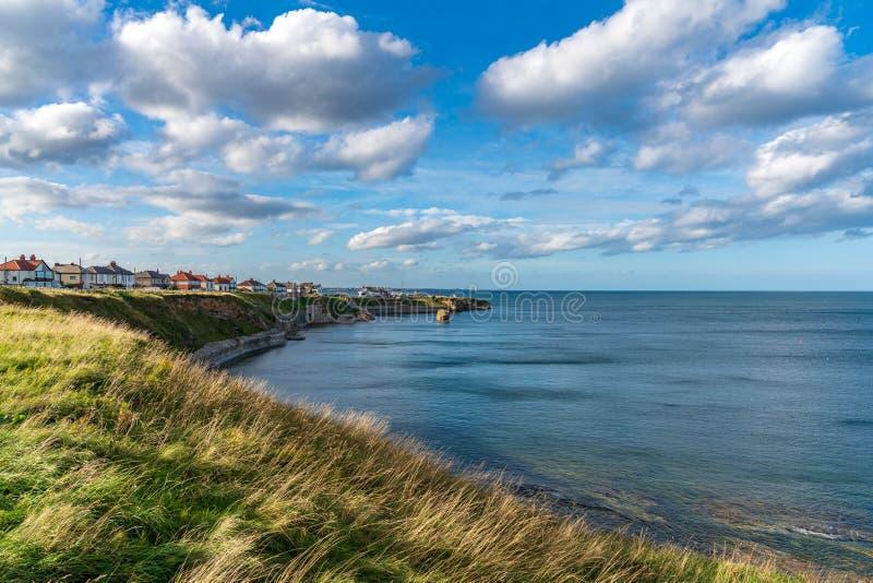 Noordzeekust in Hartley, Engeland, het UK stock foto's