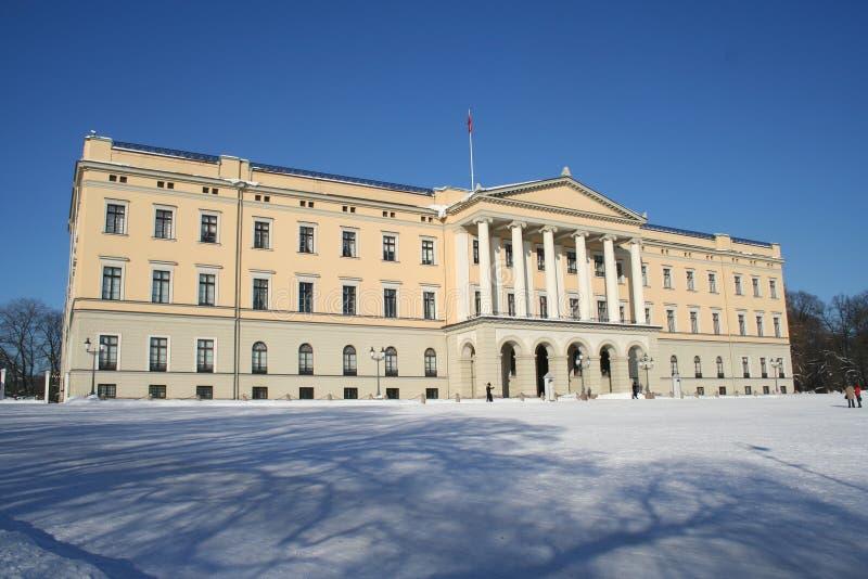 Noors kasteel royalty-vrije stock afbeeldingen