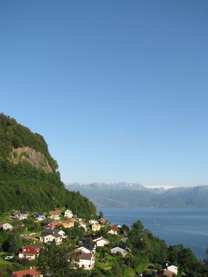 Noorse landschappen stock afbeelding