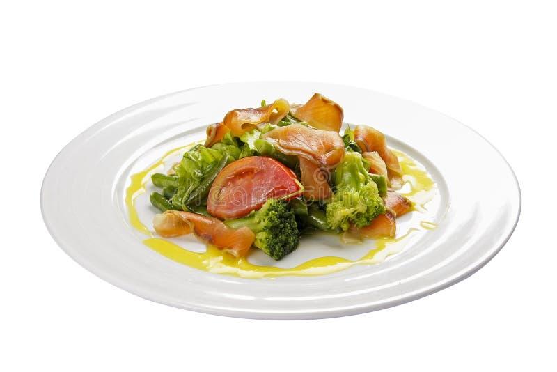Noorse salade stock afbeelding