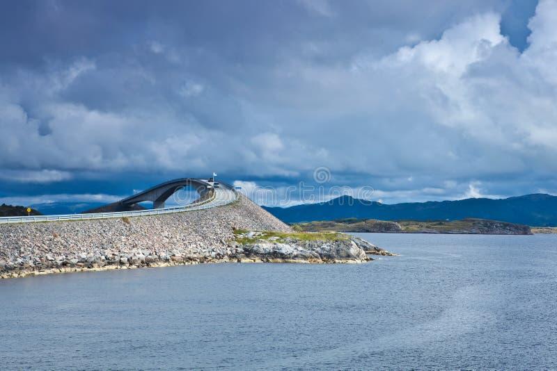 Noorwegen - Atlanterhavsvegen royalty-vrije stock fotografie