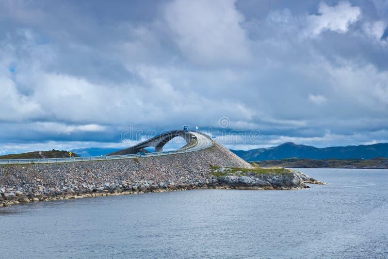 Noorwegen - Atlanterhavsvegen royalty-vrije stock afbeeldingen