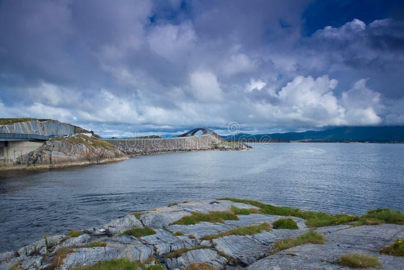Noorwegen - Atlanterhavsvegen stock foto