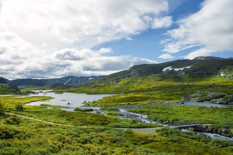 noorwegen Noors landschap royalty-vrije stock afbeelding