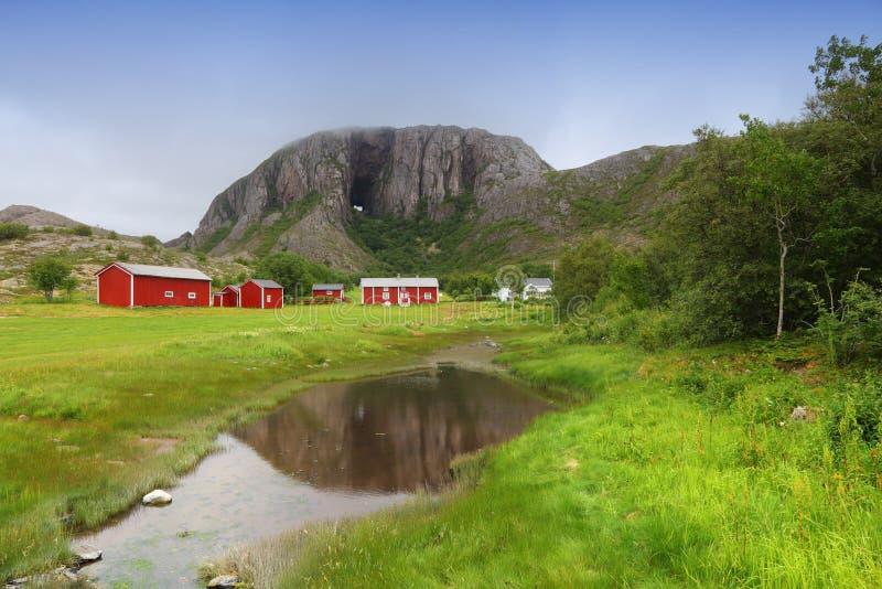 Noorwegen - Torghatten royalty-vrije stock foto's