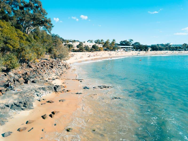 Noosa magistrali plaży lato obrazy royalty free