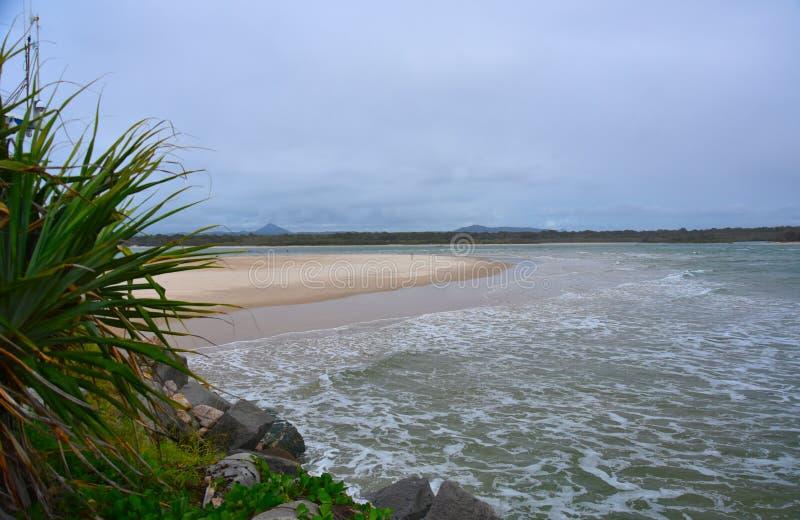 Noosa beach stock photo. Image of queensland, australia ...