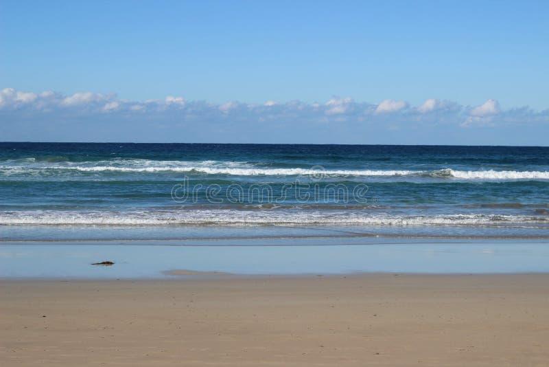 Noosa strandhav arkivbild