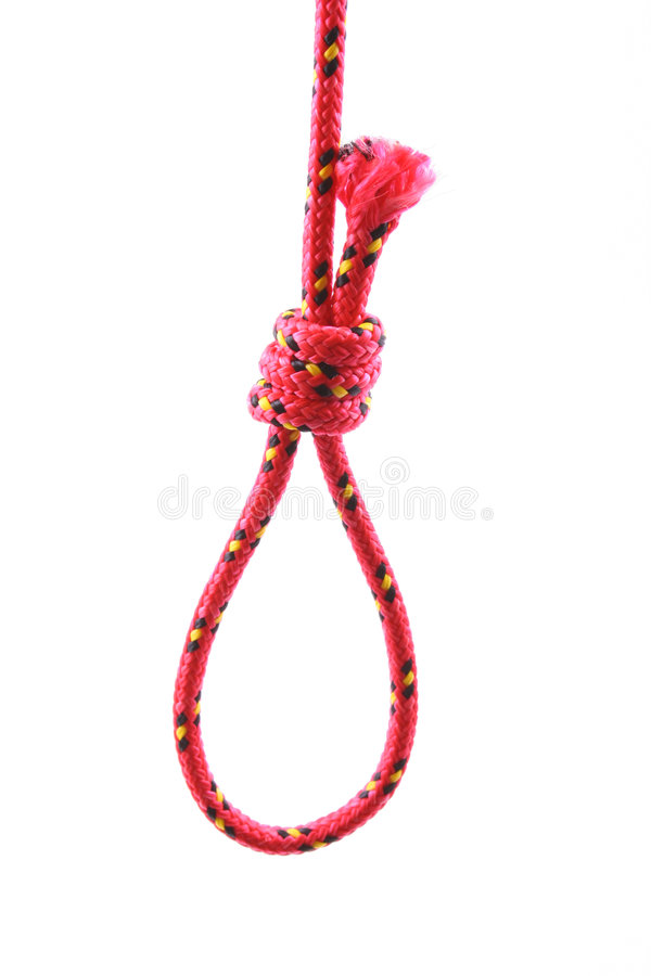 Noose stock photography