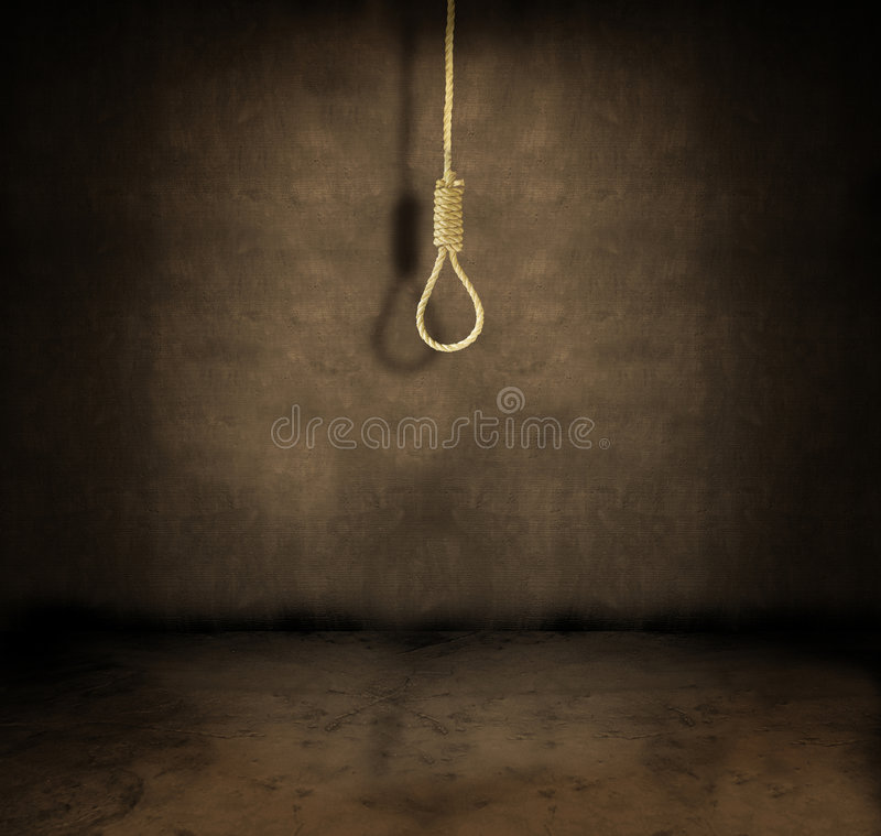 Download Noose stock photo. Image of depression, death, hung, loop - 4555580