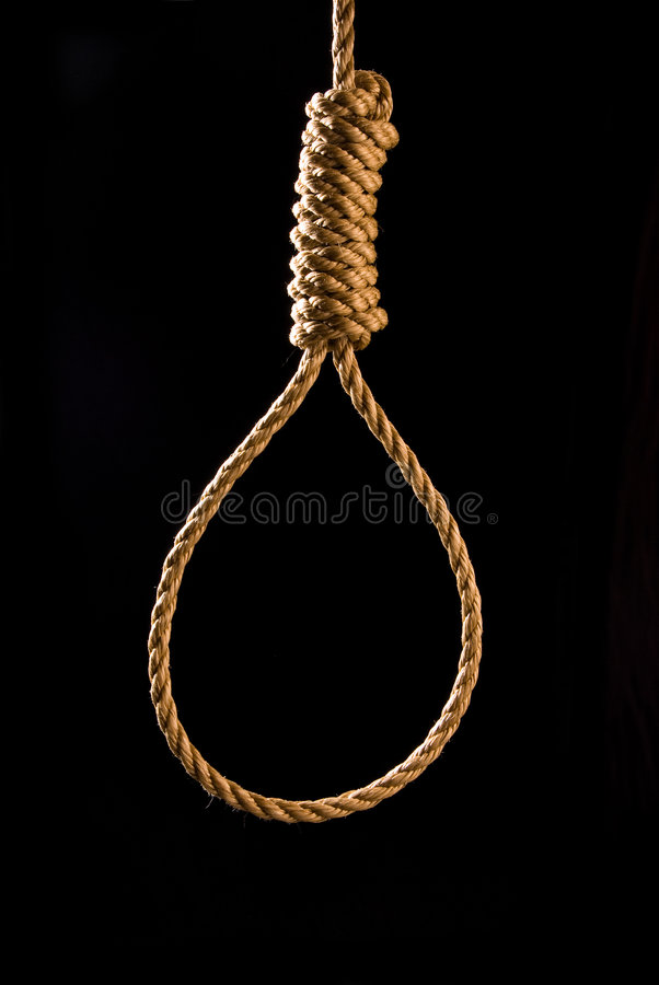 Download Noose stock image. Image of conceptual, suicide, tool - 7053291