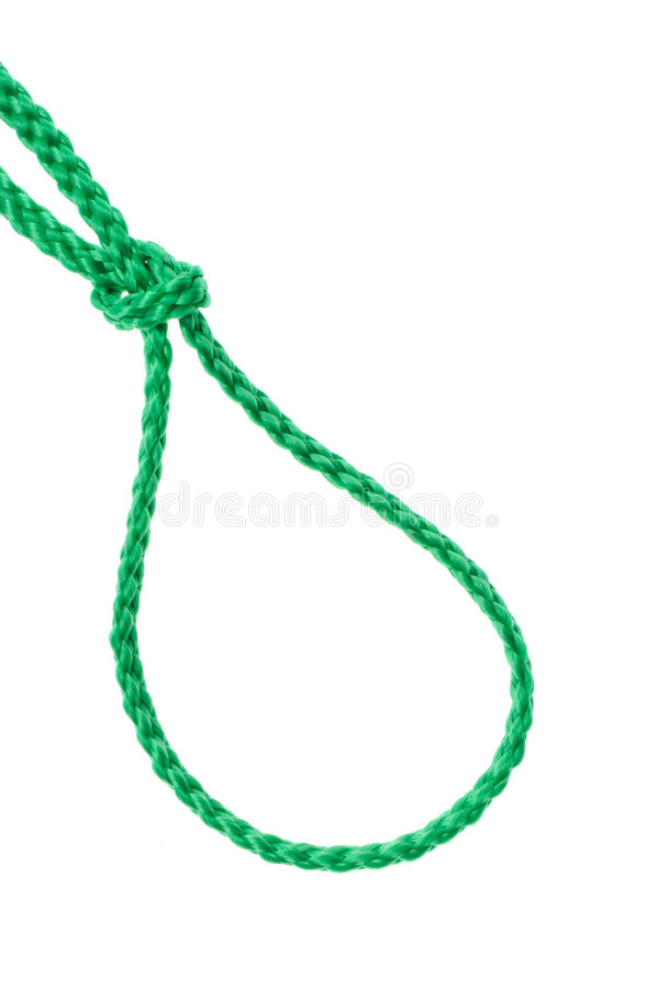 Download Noose from a cord stock image. Image of complexity, equipment - 9030861