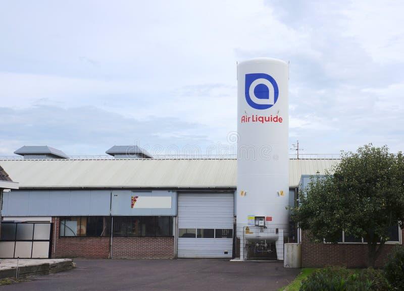 Air Liquide tank royalty free stock photos