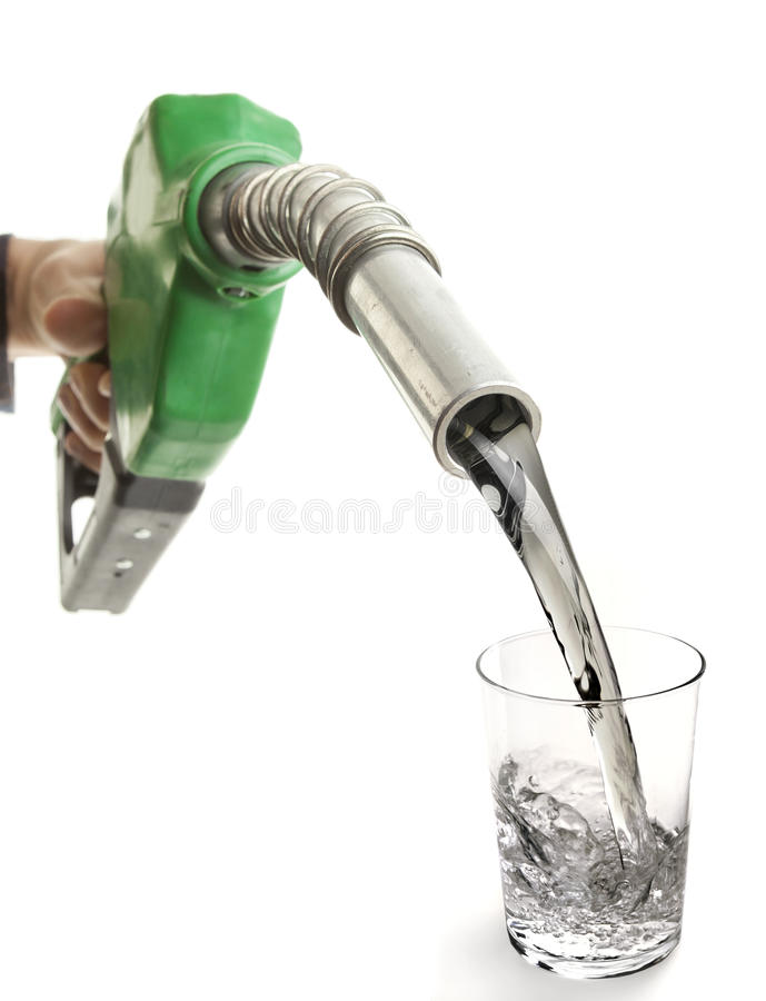 Download Noozle and Glass stock image. Image of hydration, rehydration - 26133343