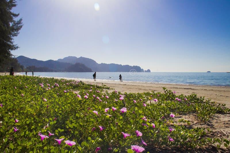 Nopparat海滩 免版税图库摄影