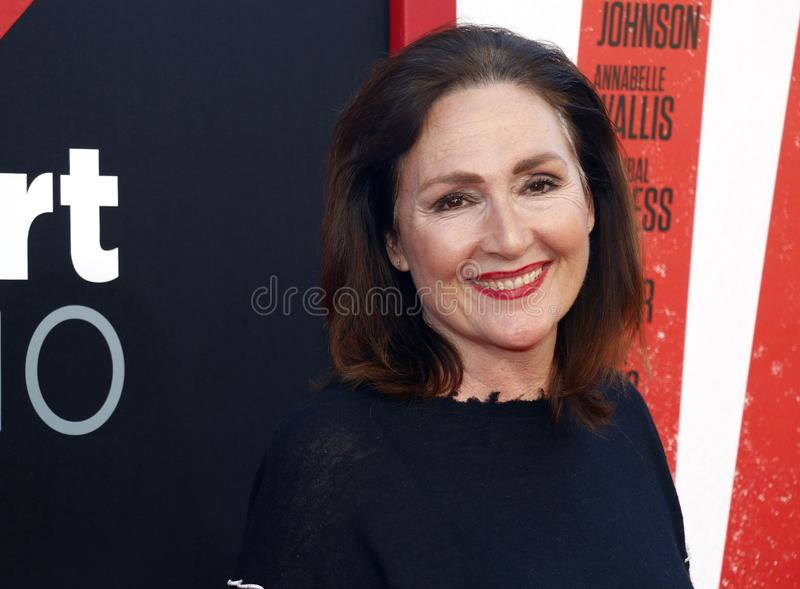 Nora Dunn. At the Los Angeles premiere of `Tag` held at the Regency Village Theatre in Westwood, USA on June 7, 2018 stock photography