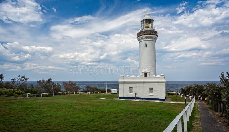 Norah Head Lighthouse fotografia de stock royalty free