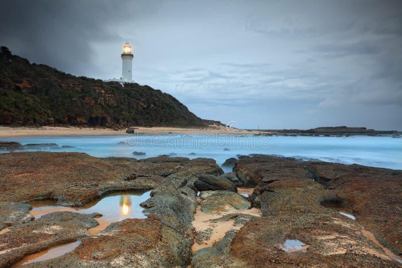 Norah Head Lighthouse imagem de stock