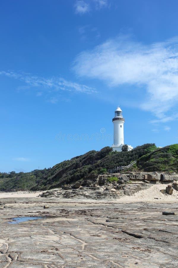 Norah Head Lighthouse - costa central NSW Austr?lia foto de stock