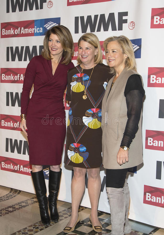 Norah O'Donnell, Салли Susman, и Hilary Rosen стоковые изображения rf