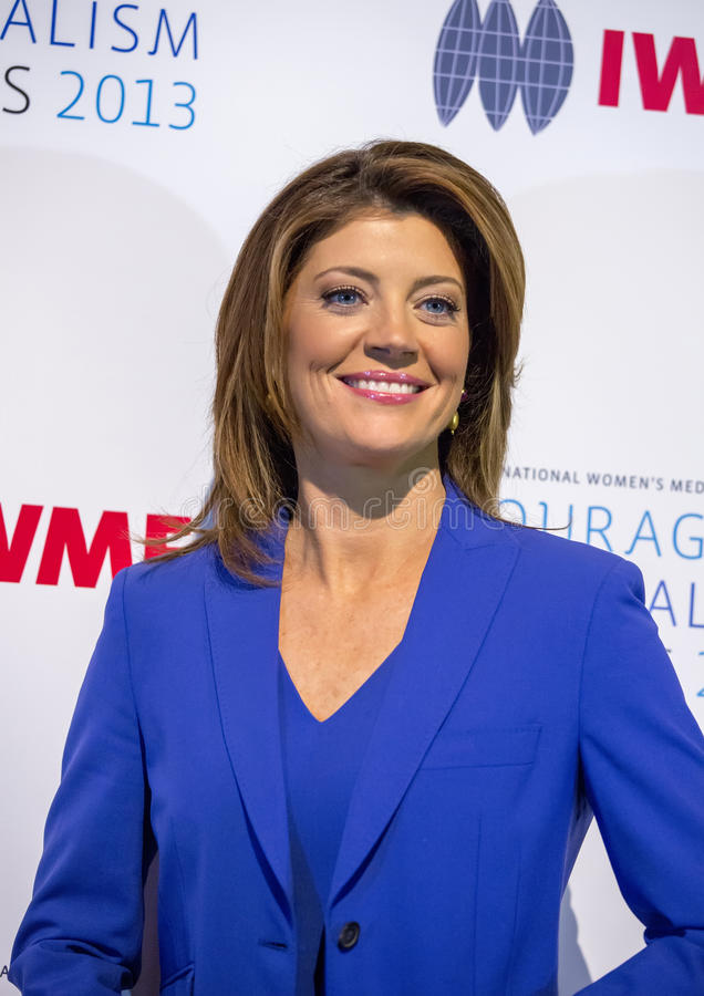 Download Norah O'Donnell editorial photo. Image of city, morning - 34651306