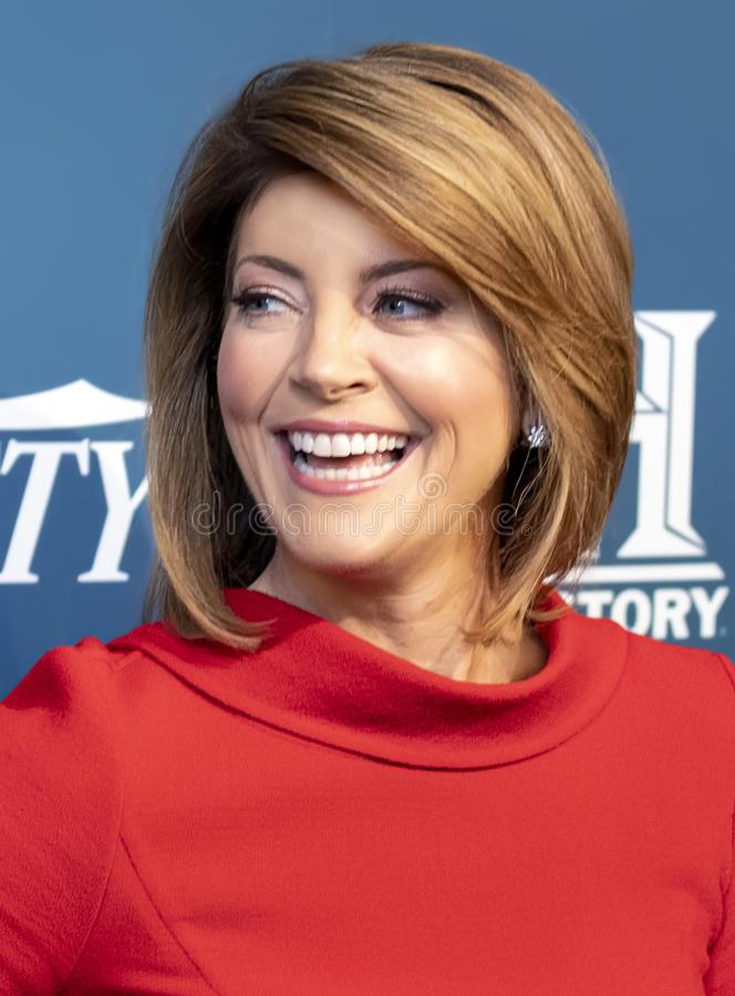 Norah O`Donnell at 3rd Annual Variety Salute to Service stock photo