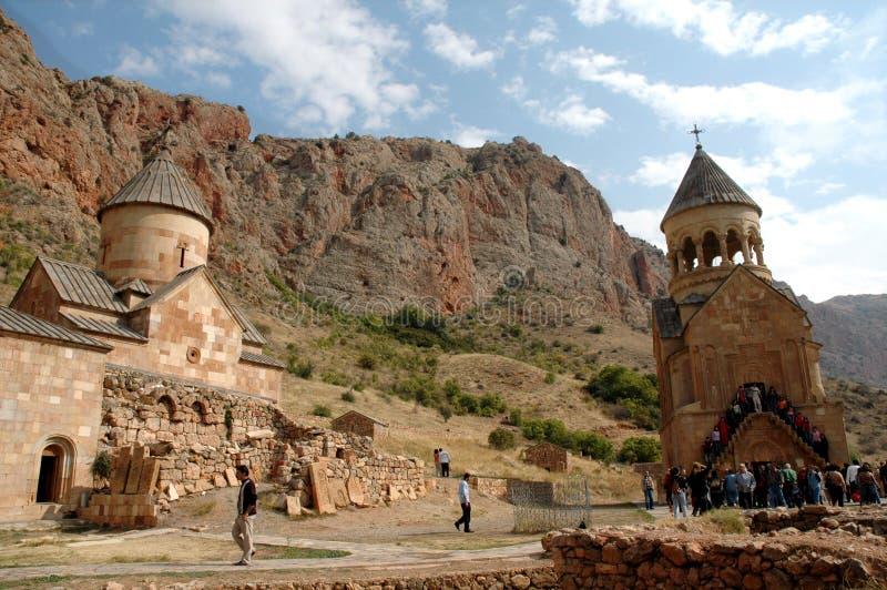 Noravank 13世纪亚美尼亚修道院 免版税库存图片
