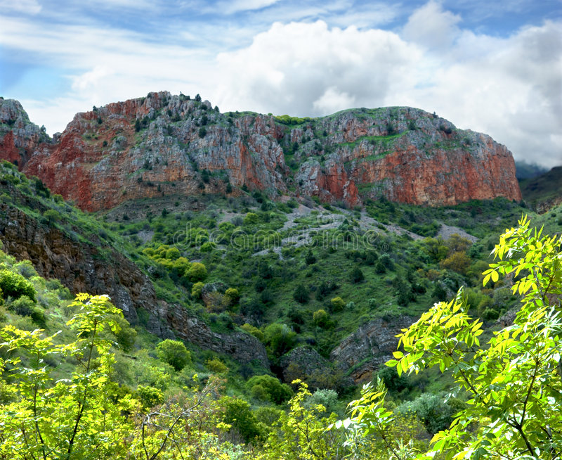 Download Noravank Grand Canyon stock photo. Image of prop, land - 4330746