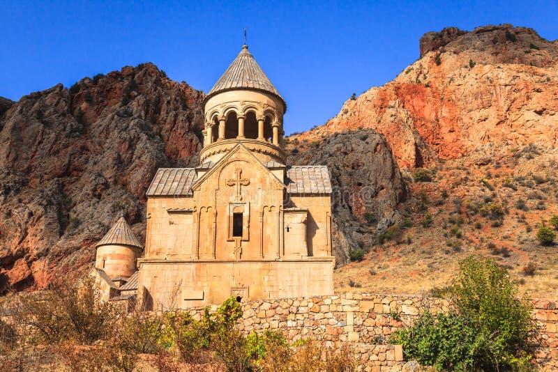 Noravank kloster fotografering för bildbyråer