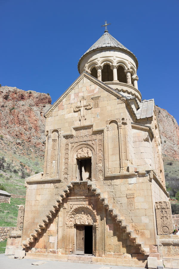 Noravank kloster, Vayots Dzor landskap, Armenien arkivfoto