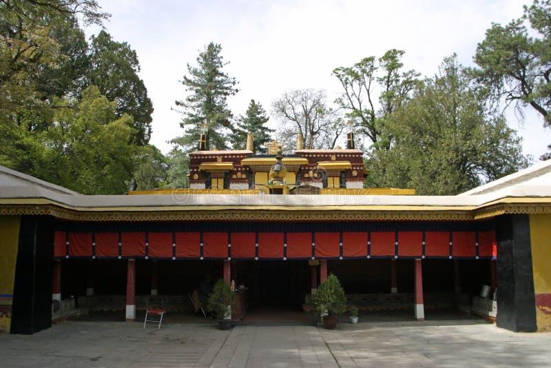 Norbulingka en Lasa, Tíbet fotografía de archivo libre de regalías