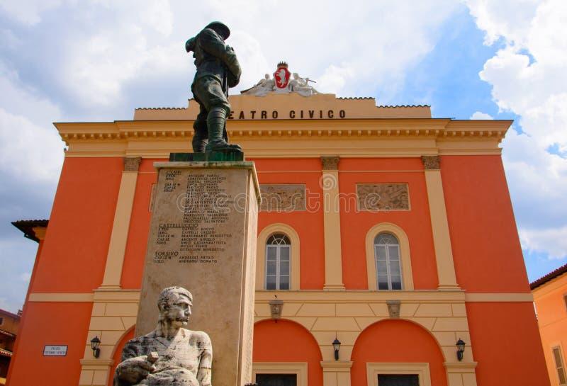 Norcia es una ciudad de la provincia de Perugia Italia en el sureste de Umbría fotografía de archivo libre de regalías