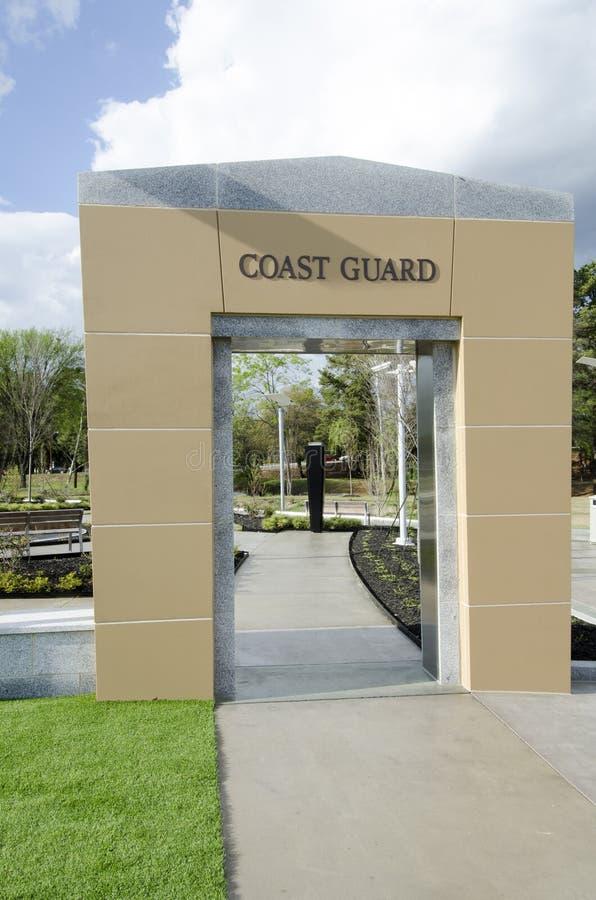 Nord-Carolina Veterans Park, Fayetteville 22. März 2012: Parken Sie engagiertes zu allen NC-Veteranen im Zustand lizenzfreie stockfotografie