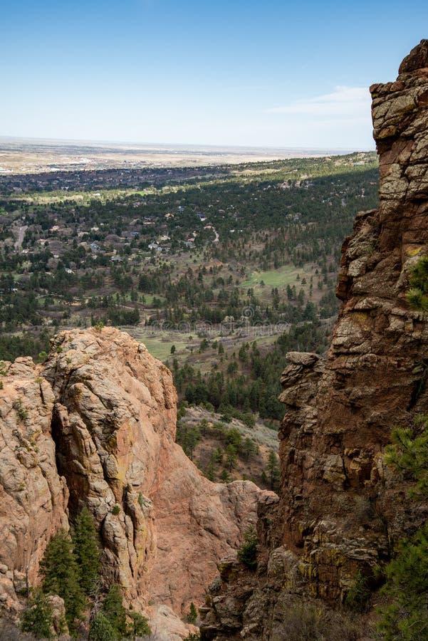 Nord-Cheyenne-Schluchtkanon Colorado Springs lizenzfreies stockfoto