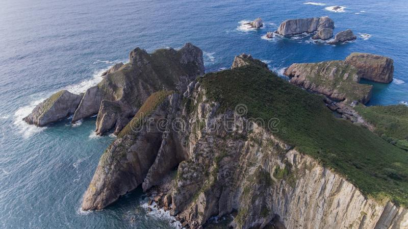 A nord della Spagna fotografia stock libera da diritti