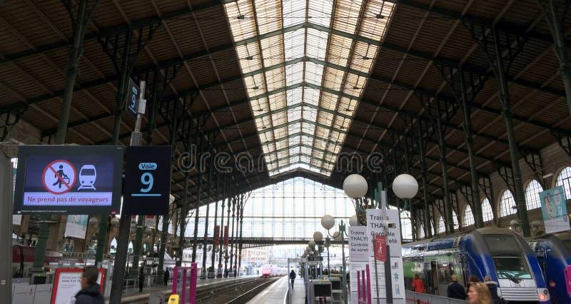 nord paris du gare стоковые фотографии rf