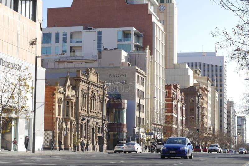 Nord- Terrasse, Adelaide, Süd-Australien lizenzfreie stockbilder