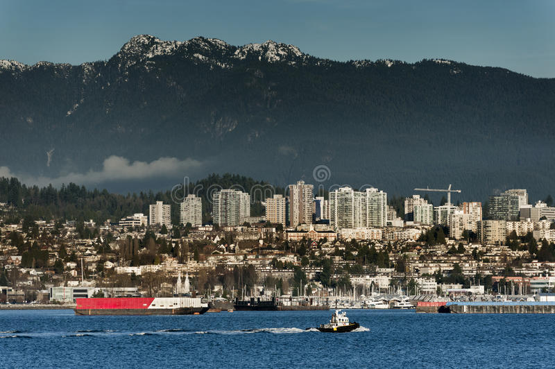 Nord-Vancouver, Kanada lizenzfreie stockfotos