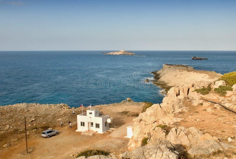 Nord-Zypern Karpazi - Kap Zafer lizenzfreie stockfotos