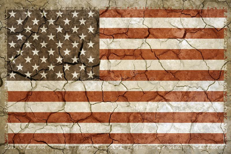 Nordamerikanische Dürre lizenzfreies stockfoto
