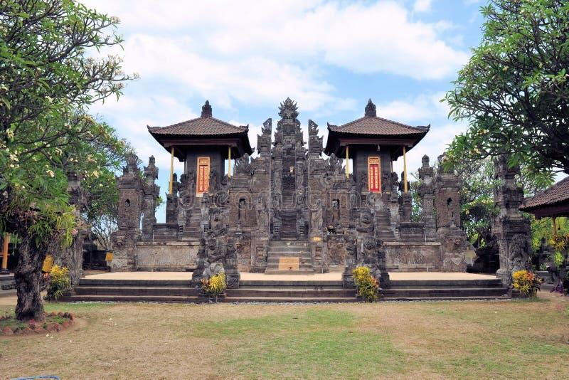 Nordbalinese-hindischer Tempel nahe Singaraja, Bali stockfoto