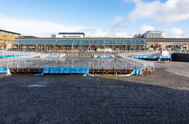 Norddocklands Dublin lizenzfreies stockfoto