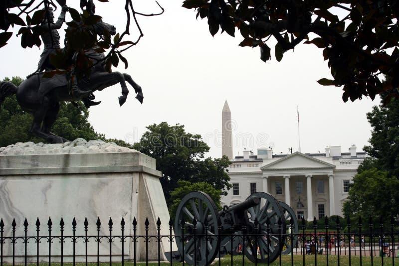 Nordeingang zu Whitehouse lizenzfreie stockfotos