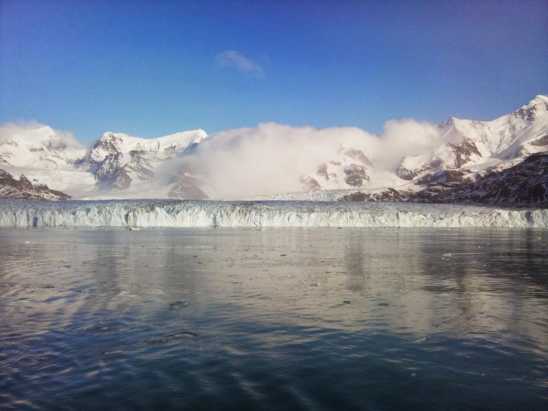 Nordenskjöld冰川 库存图片