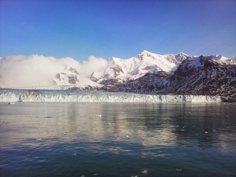 Nordenskjöld-Gletscher stockfotos