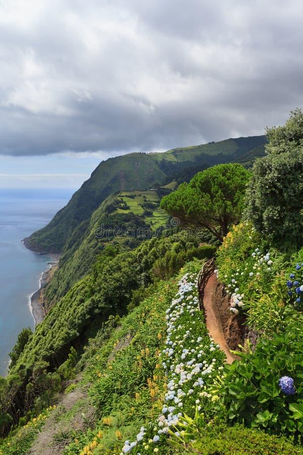 Download Nordeste, Azores obraz stock. Obraz złożonej z podróż - 53785825