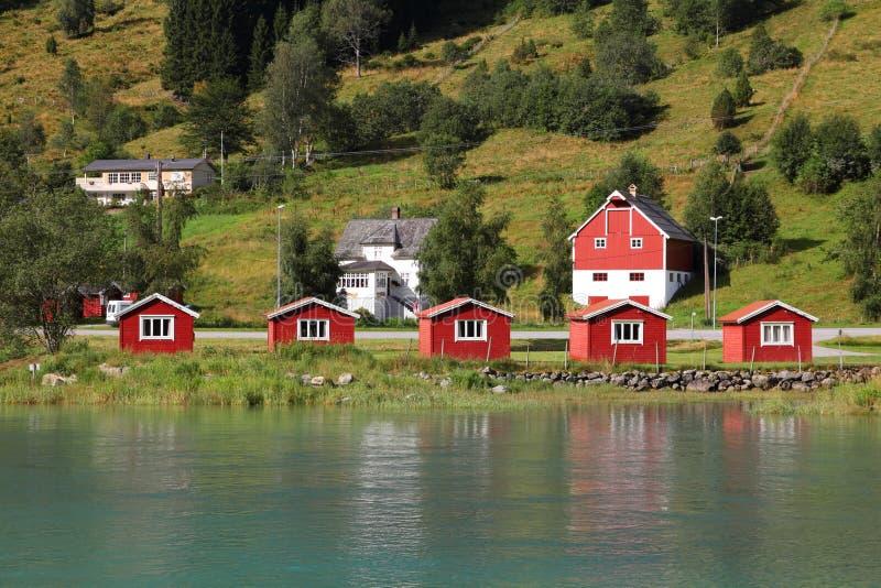 Nordfjord, Norvège photos libres de droits
